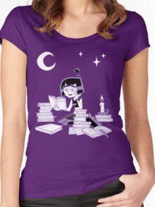 Danny Phantom: Under the Moonlight Women's Fitted Scoop T-Shirt