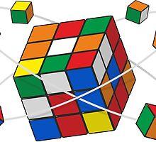 Rubik's cube by Zedd