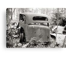 Old Rusty Car #2 Canvas Print