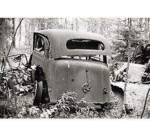 Old Rusty Car #2 Photographic Print