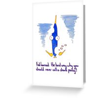 Fred fish and the meaning of life 1 Greeting Card
