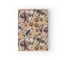I love pugs Hardcover Journal