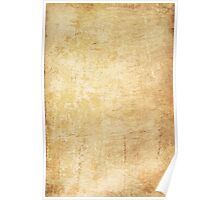 Old paper texture Poster