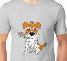 JACK RUSSELL PUPPY DOG CIAKY ROCK Unisex T-Shirt