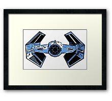 Star Wars Tie Fighter Advanced X1 Framed Print