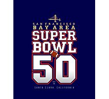 Super Bowl 50 IV Photographic Print