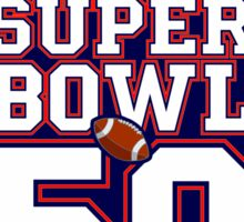 Super Bowl 50 IV Sticker