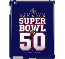 Super Bowl 50 IV iPad Case/Skin