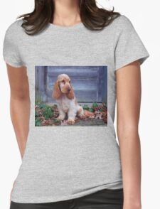 English Cocker Spaniel Womens Fitted T-Shirt