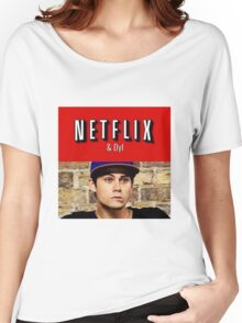 Netflix and Dyl  Women's Relaxed Fit T-Shirt