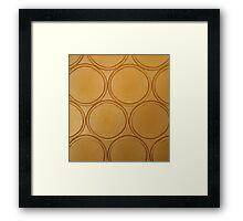 Joyful Circles Framed Print
