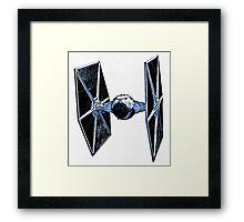 Star Wars Tie Fighter Framed Print