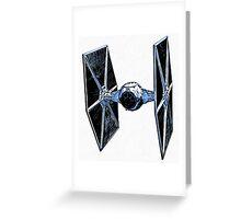 Star Wars Tie Fighter Greeting Card