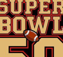 Super Bowl 50  Sticker