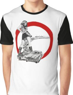 Demolition Derby Girl Graphic T-Shirt