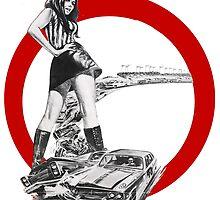 Demolition Derby Girl by Spookydark