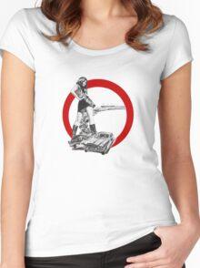 Demolition Derby Girl Women's Fitted Scoop T-Shirt