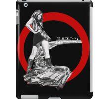 Demolition Derby Girl iPad Case/Skin