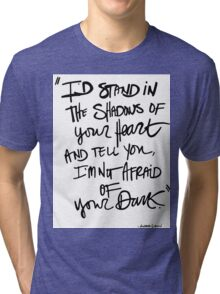 Quote, Andrea Gibson Tri-blend T-Shirt
