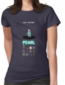 Gem Select - Pearl Womens Fitted T-Shirt
