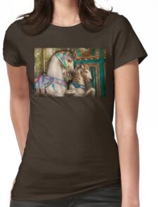 Americana - Carousel beauties Womens Fitted T-Shirt