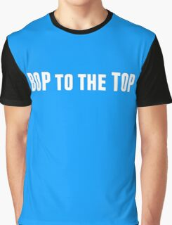 Bop to the Top in white Graphic T-Shirt