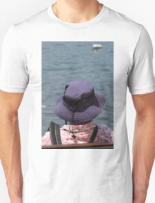 people on the beach Unisex T-Shirt