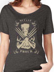 Wolverine- Mutant and Proud Women's Relaxed Fit T-Shirt