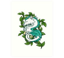 Haku // Spirited Away Art Print