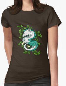 Haku // Spirited Away Womens Fitted T-Shirt