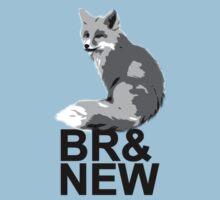 Br& New Fox Baby Tee