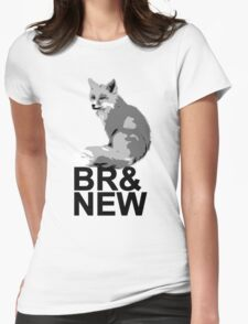 Br& New Fox Womens Fitted T-Shirt