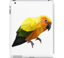 Abstract Yellow Bird iPad Case/Skin