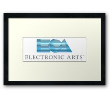 Electronic Arts historical logo Framed Print
