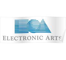 Electronic Arts historical logo Poster