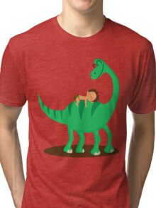 Arlo the good dinosaur Tri-blend T-Shirt