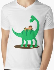 Arlo the good dinosaur Mens V-Neck T-Shirt