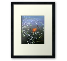 Early Signs Of Spring Framed Print