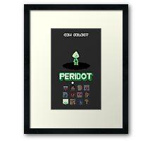 Gem Select - Peridot Framed Print