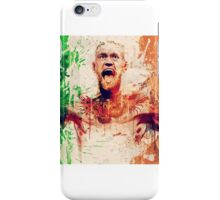 Conor Mcgregor Abstract iPhone Case/Skin