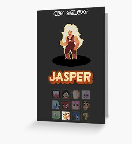 Gem Select - Jasper Greeting Card