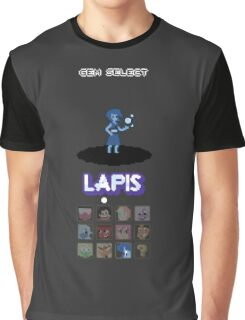 Gem Select - Lapis Graphic T-Shirt