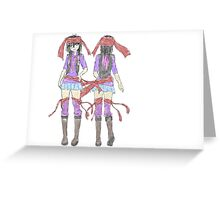 RIBBONS! Greeting Card