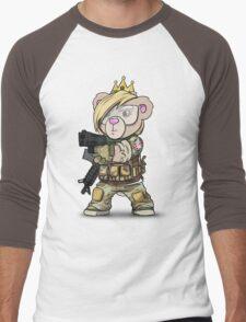 Cuddlesign Princess Men's Baseball ¾ T-Shirt