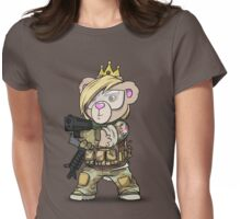 Cuddlesign Princess Womens Fitted T-Shirt