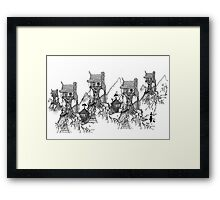 Gothic Hill Framed Print