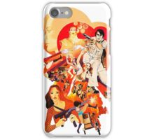 Karate Commando Action Girls.  iPhone Case/Skin