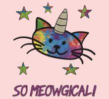 Unicorn Cat So Meowgical T Shirt One Piece - Long Sleeve