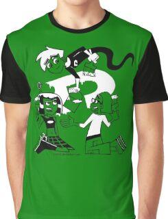 Danny Phantom: Paintbrush Graphic T-Shirt
