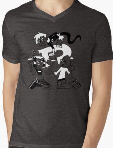 Danny Phantom: Paintbrush Mens V-Neck T-Shirt